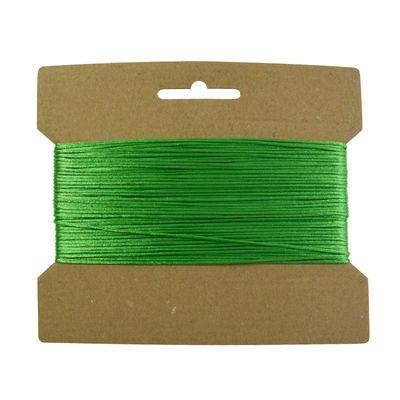 25m Satinschnur 1mm, Flechtschnur Satinkordel Kumihimo freie Farbwahl – Bild 12