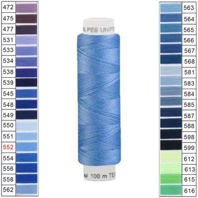10 x 100m / 10 Spulen Unipoly 120 TEX14x2 Polyester Nähgarn Artikel 3v6 Farbwahl – Bild 14