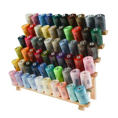 12 x 1000m / 12 Spulen 40/2 Polyester Nähgarn Farbmix Paket Farbwahl Farben
