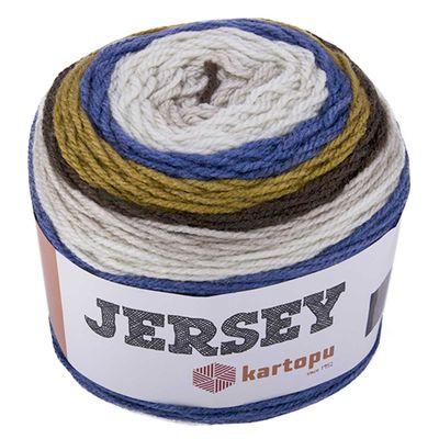 3 x 200g Farbverlaufsgarn Bobbel Kartopu Jersey Strickgarn Wolle Häkelgarn – Bild 9