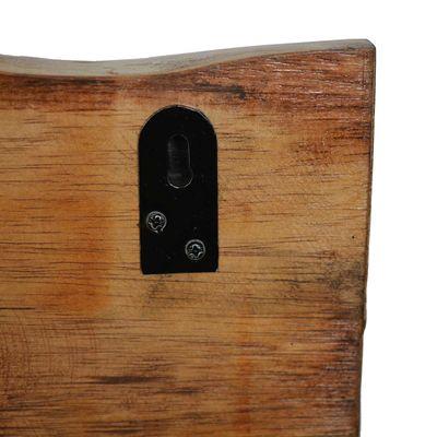 1 Holz Wanddekoration Antik beschnitzt 60x20cm Echtholz Variante wählbar – Bild 9