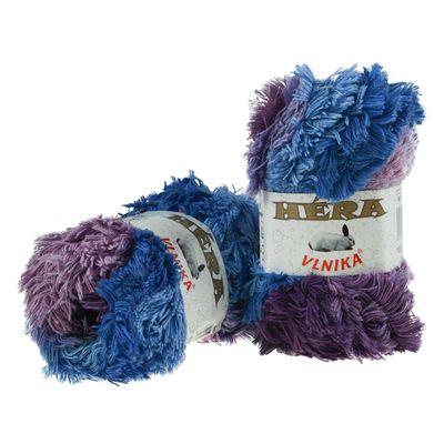 100g Fransen-Wolle Hera Strickgarn Frasengarn Farbverlauf Strickwolle Farbwahl – Bild 7