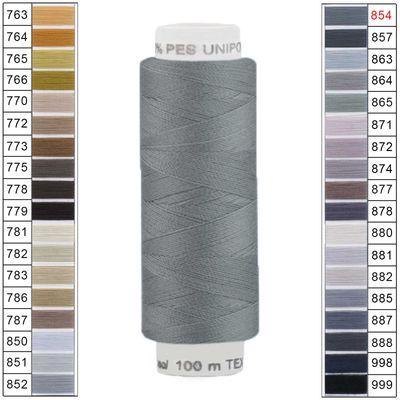 100m / 1 Spule Unipoly 120 TEX14x2 Polyester Nähgarn Artikel 6v6 Farbwahl – Bild 19