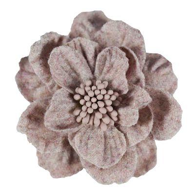 2 Textilblüten Blume dekorative Blüte mit Staubblättern Deko, Größen Farbwahl – Bild 6