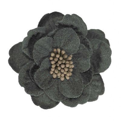 2 Textilblüten Blume dekorative Blüte mit Staubblättern Deko, Größen Farbwahl – Bild 7