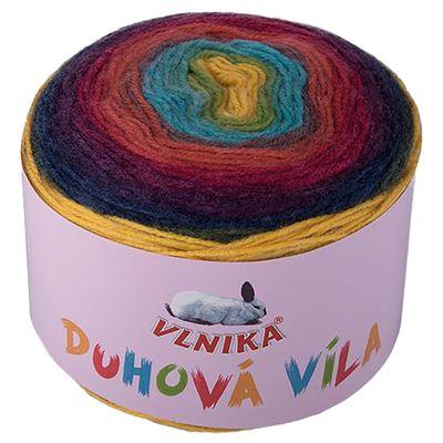 6 x 150g Farbverlaufsgarn Bobbel Duhová Víla Strickgarn Strickwolle Farbwahl – Bild 8