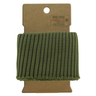 110x7cm Cuff Bündchen Strickbündchen Baumwolle elastisch gerippt, Deine Farbwahl – Bild 16
