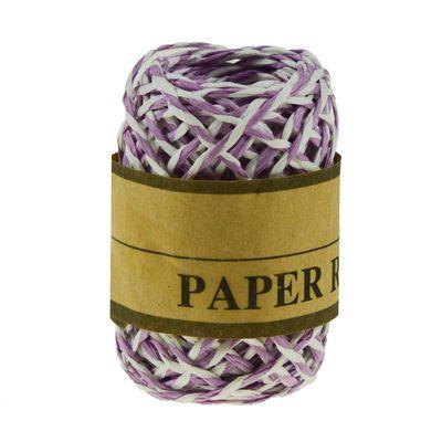 10 Meter Papierschnur, Bastelschnur schmücken verzieren, zweifarbig gedreht – Bild 7