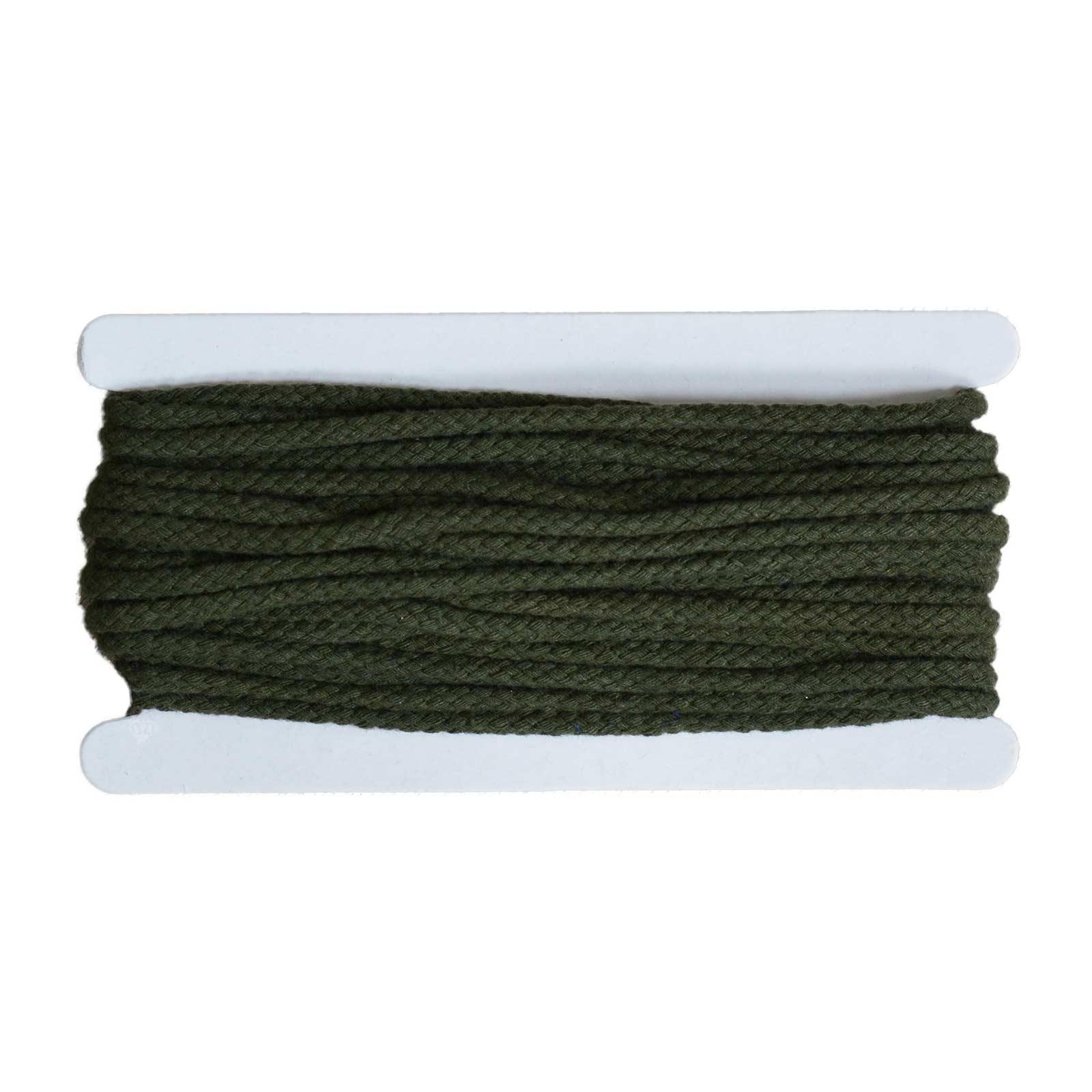 10m Kordel 5-7mm geflochten, Farbwahl - Jacken, Trainingsanzüge, Sweatshirt Deko – Bild 9