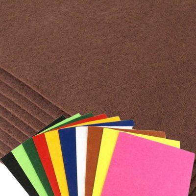 2 x Bastelfilz Bogen selbstklebend dekorativ 20x30cm 1-1,5mm 180g/m² Farbwahl