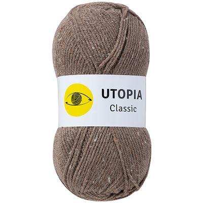 100g Strickgarn Utopia Classic Uni Strickwolle Handstrickgarn Klassikgarn, Farbwahl – Bild 5
