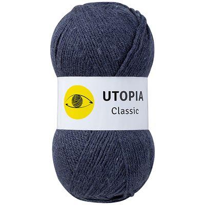5 x 100g Strickgarn Utopia Classic Uni Strickwolle Handstrickgarn Klassikgarn, Farbwahl – Bild 17