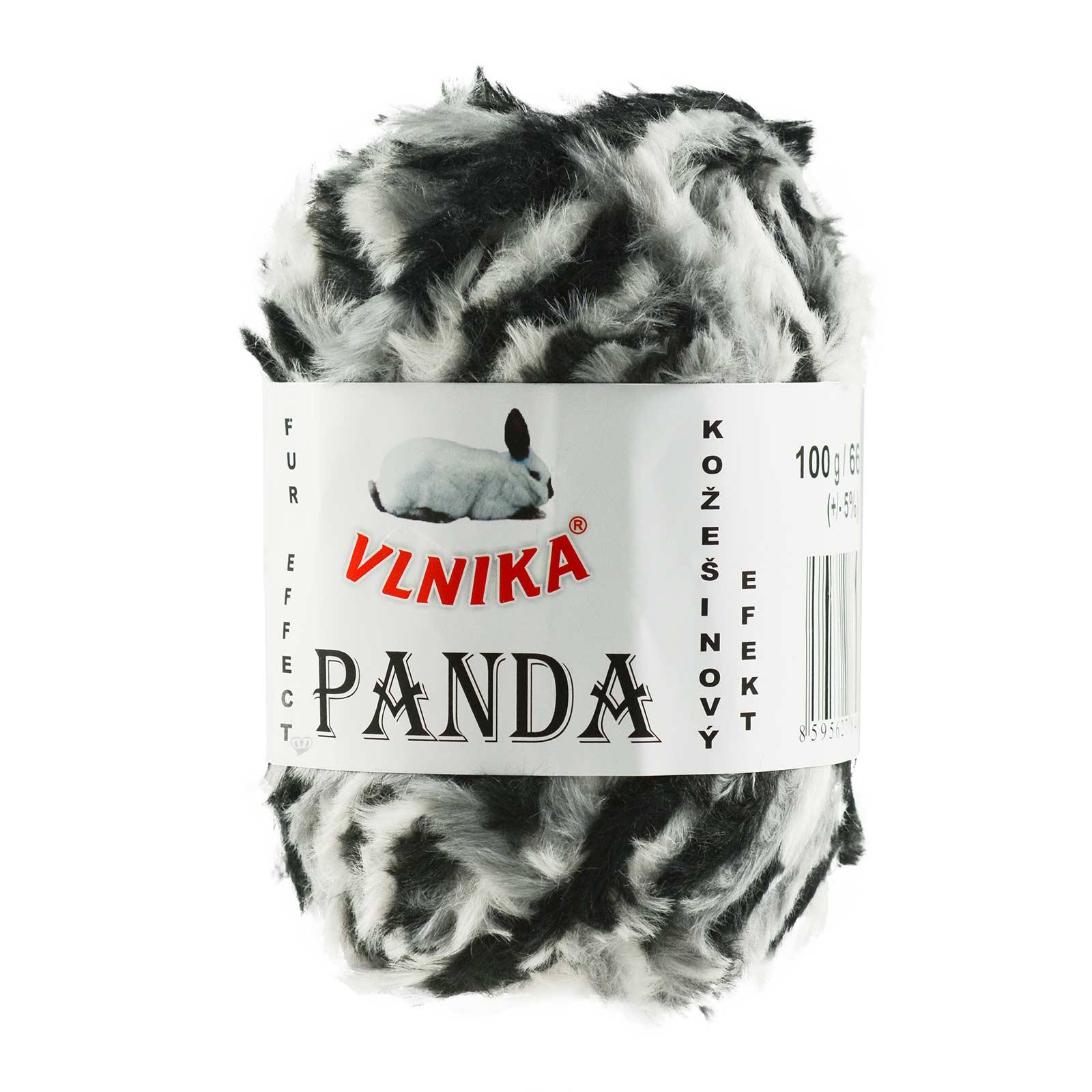 100g Strickgarn Panda Strick-Wolle Webpelz-Garn Kuschelwolle Plüschwolle  – Bild 13