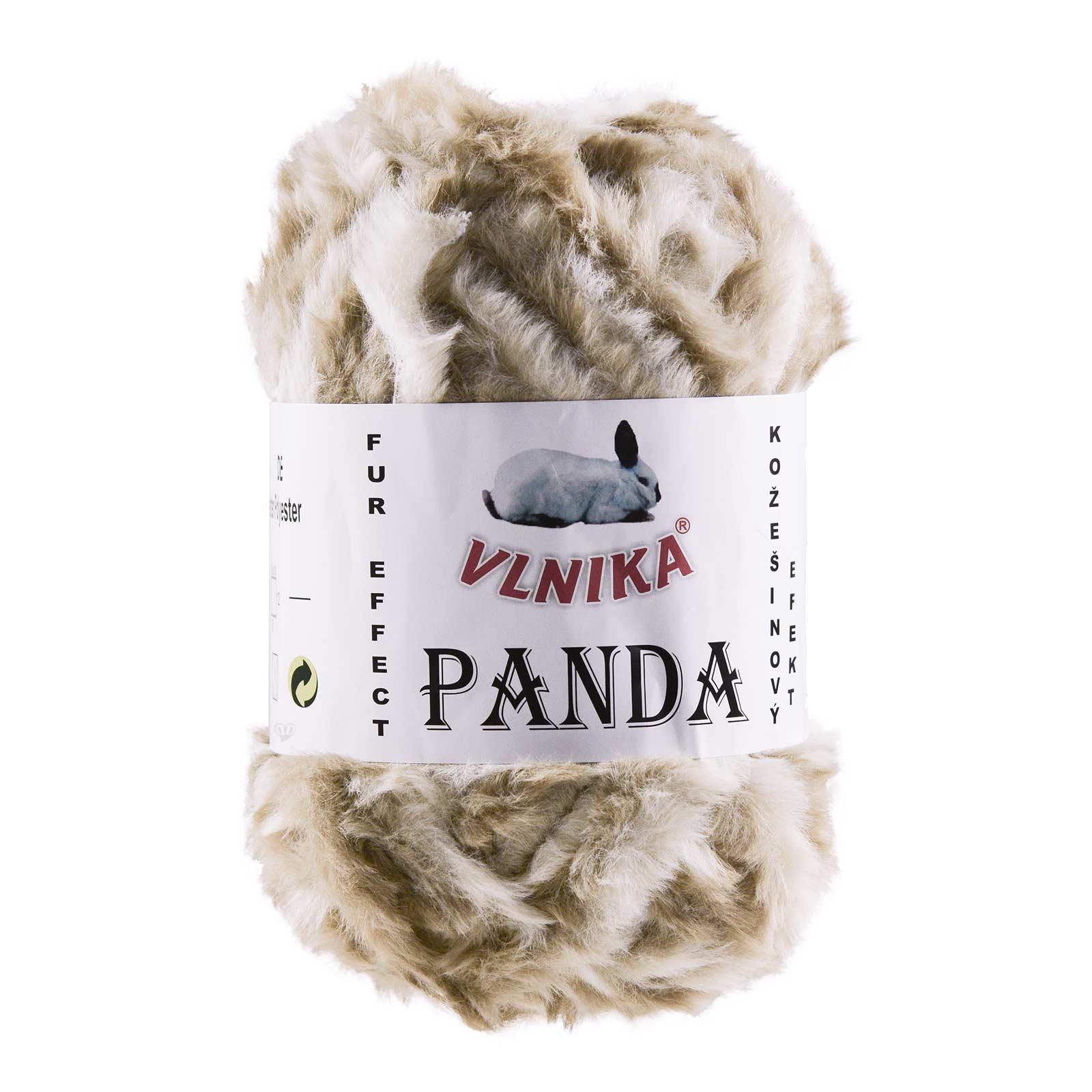 100g Strickgarn Panda Strick-Wolle Webpelz-Garn Kuschelwolle Plüschwolle  – Bild 16