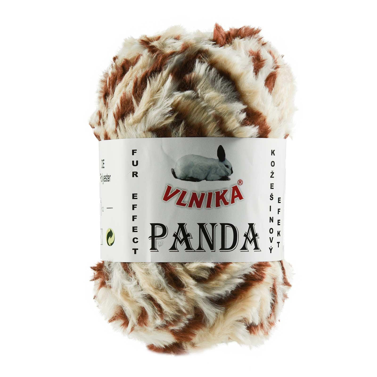 100g Strickgarn Panda Strick-Wolle Webpelz-Garn Kuschelwolle Plüschwolle  – Bild 17