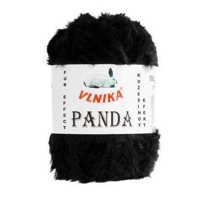 100g Strickgarn PANDA Strick-Wolle Webpelz-Garn Kuschelwolle Plüschwolle  – Bild 4