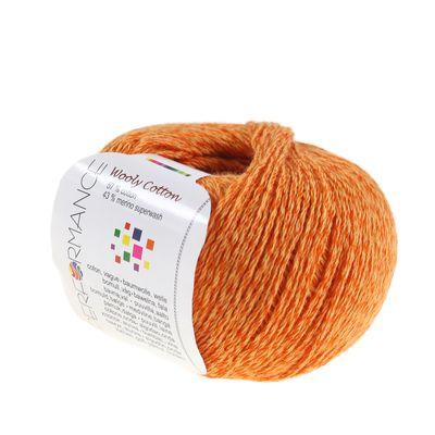 Strickgarn WOOLY COTTON 50g Baumwolle m. 43% Merino-Wolle veredelt Naturgarn – Bild 6