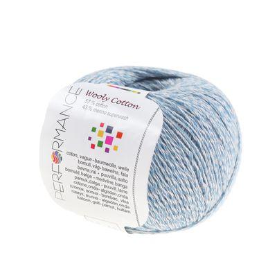 Strickgarn WOOLY COTTON 50g Baumwolle m. 43% Merino-Wolle veredelt Naturgarn – Bild 11