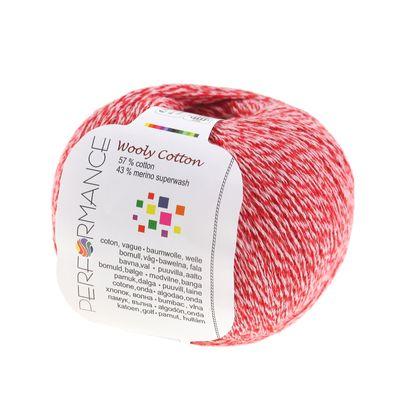 500g Strickgarn WOOLY COTTON Baumwolle m. 43% Merino-Wolle veredelt Naturgarn – Bild 5