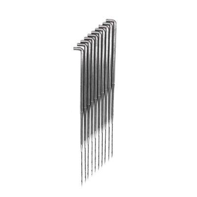 10 Filznadel Stahl, Größe wählbar S-M-L Wolle Filz Werkzeug Filzen Nadeln – Bild 6
