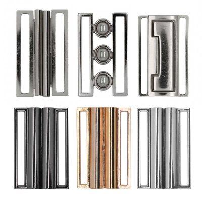 1 Metall Gürtel-Schnalle Gurtschnalle Steckschnalle Schließe Klick Verschluss – Bild 1