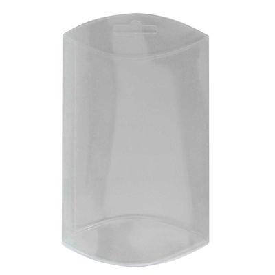 50 transparente Kissenboxen mit Euroloch, Blister-Verpackung Sichtverpackung – Bild 4