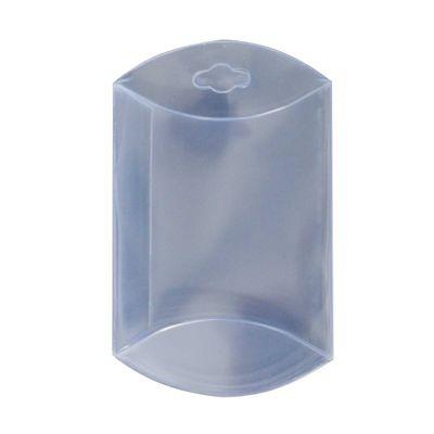 50 transparente Kissenboxen mit Euroloch, Blister-Verpackung Sichtverpackung – Bild 2