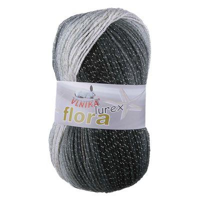 500g Farbverlaufsstrickgarn Flora mit Glitzereffekt Häkelgarn Glitzerwolle Farbwahl – Bild 9