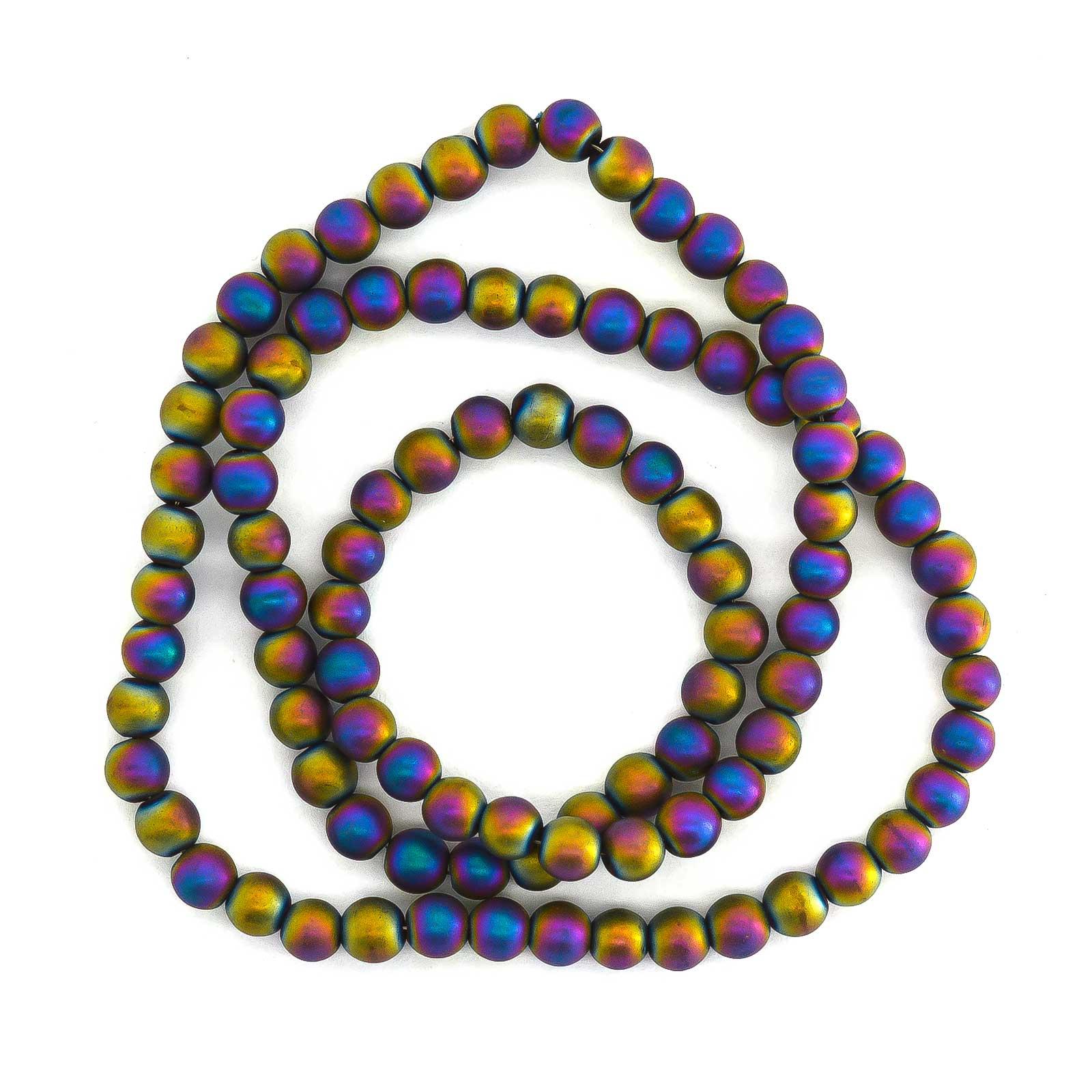1 Strang Hämatit-Perlen Pfeile Kugel Würfel Schmuckperlen verschiedene Formen Farbwahl – Bild 6