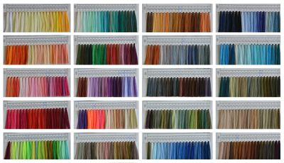 4 x 4572m Overlockgarn Nähgarn Polyester Overlock Garn, wähle aus 400 Farben – Bild 2