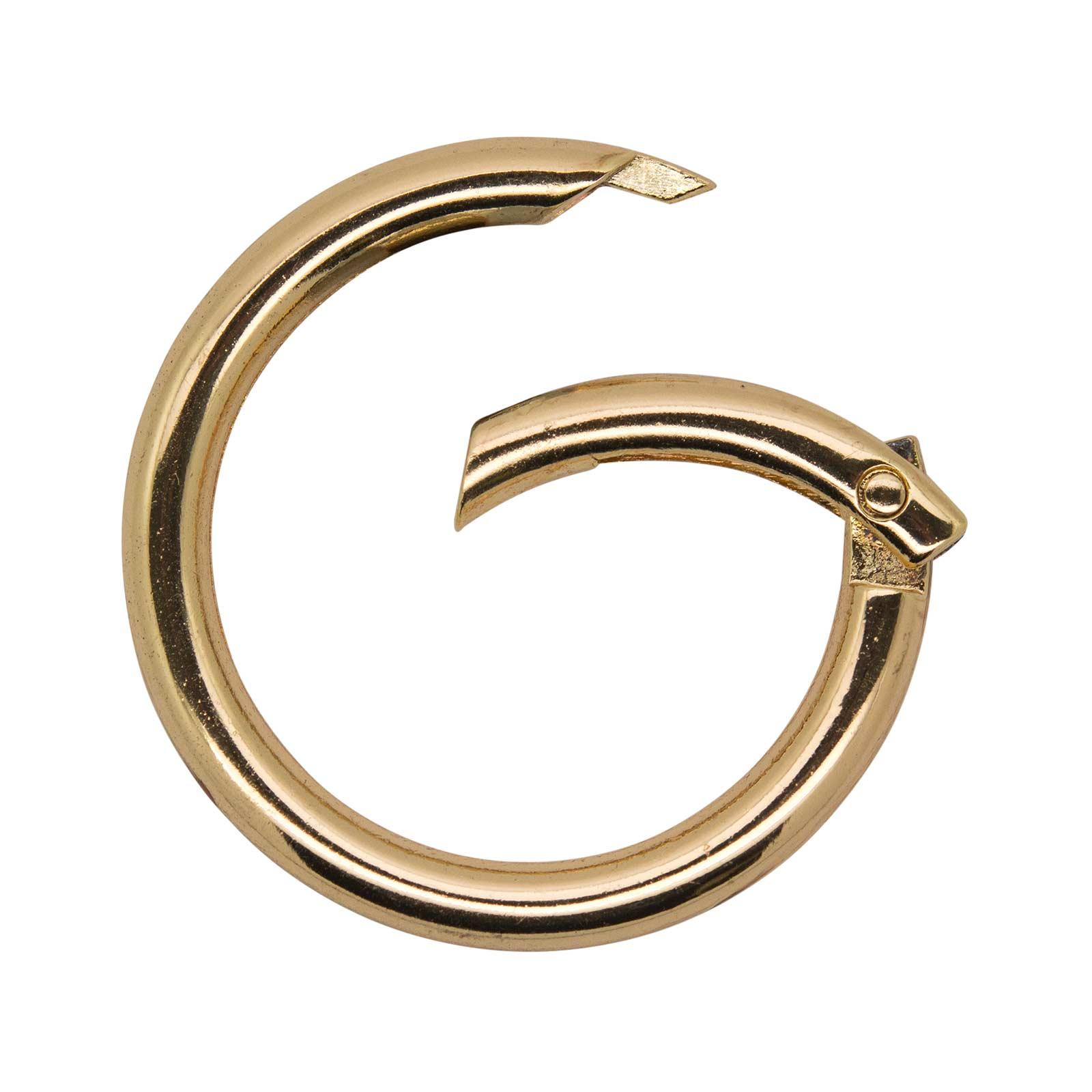3 Ring-Karabiner Metall Karabinerhaken Schlüssel Verschluss Outdoor Tasche, Farbwahl Größenwahl – Bild 11