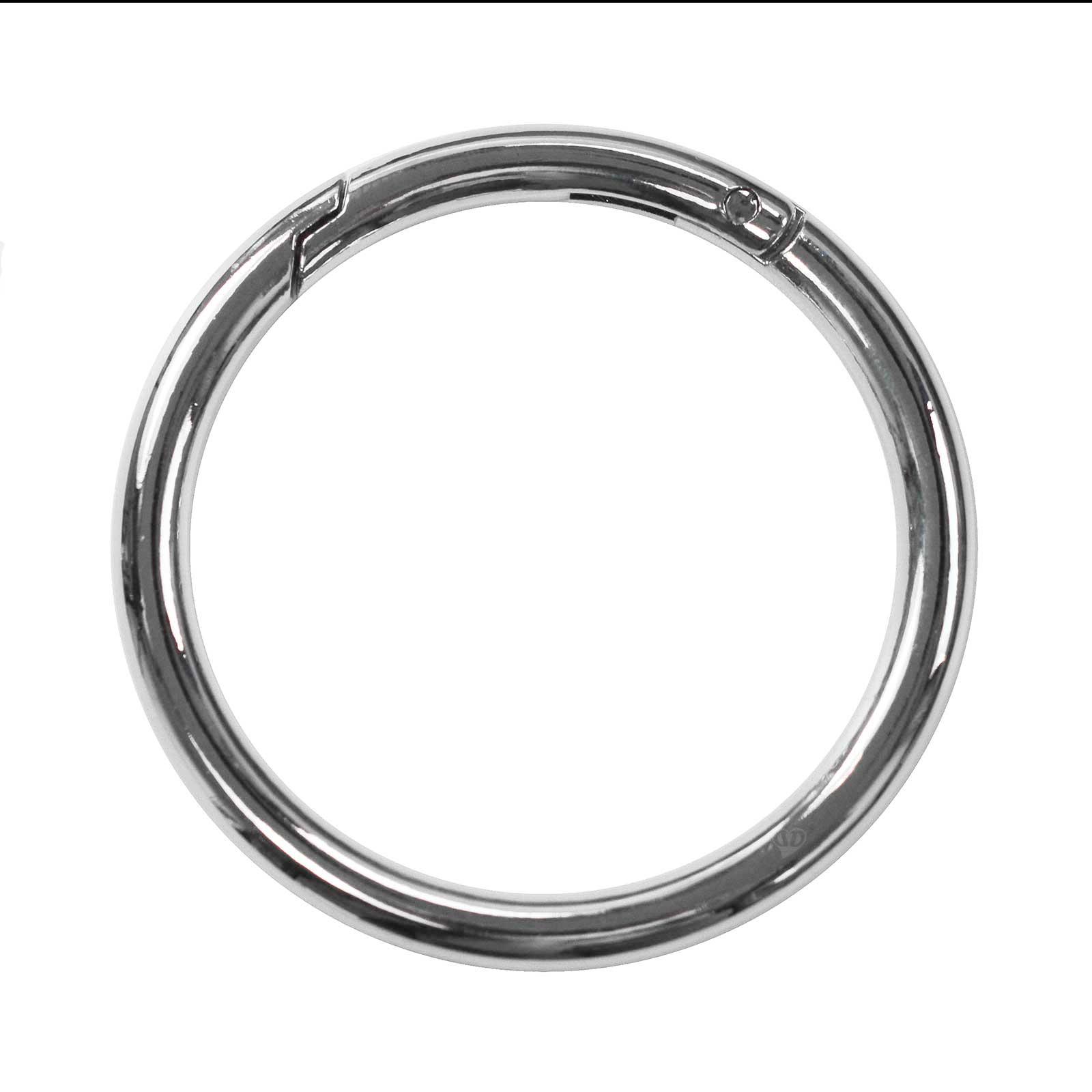 3 Ring-Karabiner Metall Karabinerhaken Schlüssel Verschluss Outdoor Tasche, Farbwahl Größenwahl – Bild 19