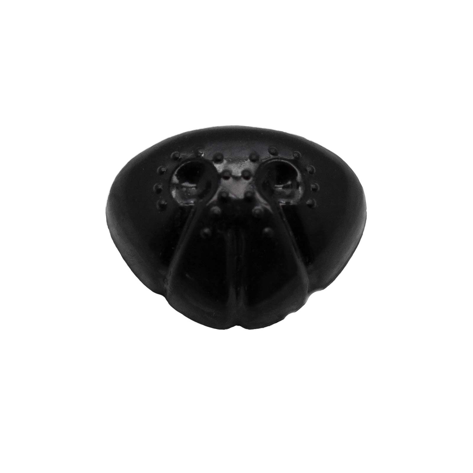 Nasen für Kuscheltiere uvm 23x18mm 10 Kunststoff schwarz