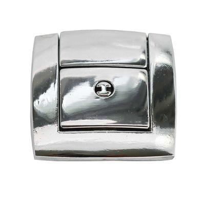 silbern Metall Mappenverschluss Steckverschluss Mappenschloss 50x43mm