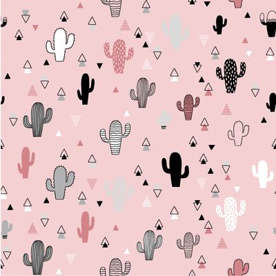 0,5m Baumwollstoff BeHappy Motiv Kaktus OEKOTEX Meterware 150cm breit, Farbwahl – Bild 3