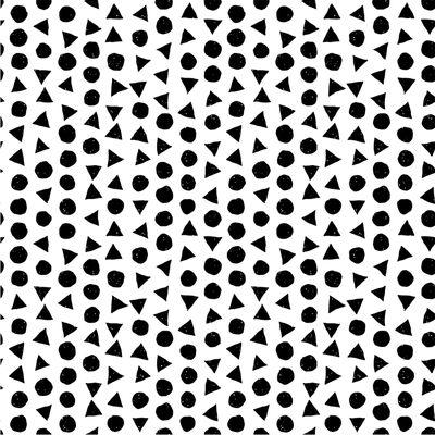 0,5m Baumwollstoff BeHappy Motiv Geometric OEKOTEX Meterware 150cm breit, Farbwahl – Bild 8