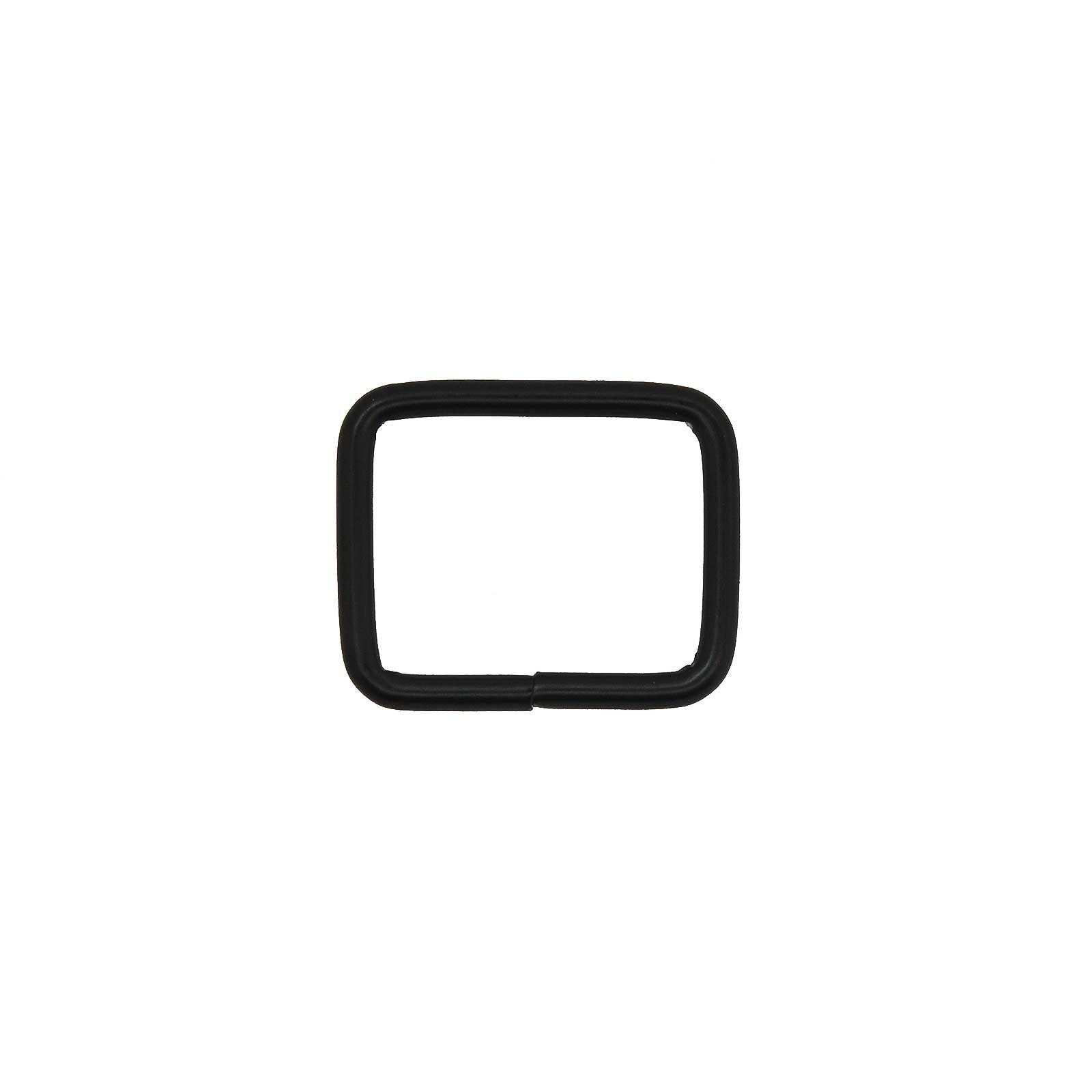 10 Rechteck Ringe Rahmen Durchzug Metall-Schlaufe Gurtband Variantenwahl – Bild 12