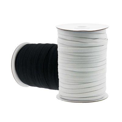 100m Gummiband gestrickt Gummilitze elastisches Band Wäschegummi Variantenwahl