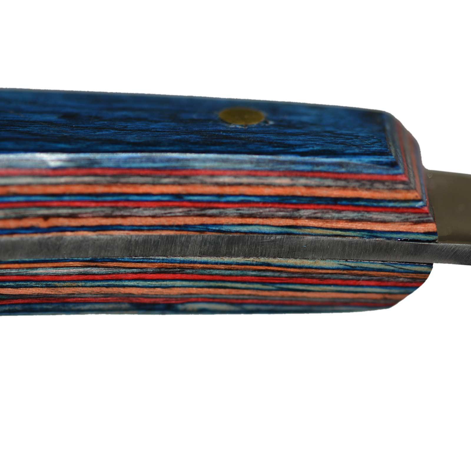 Hufmesser Klauenmesser Rinnenmesser edler Holzgriff - Rechtshänder/Linkshänder – Bild 5