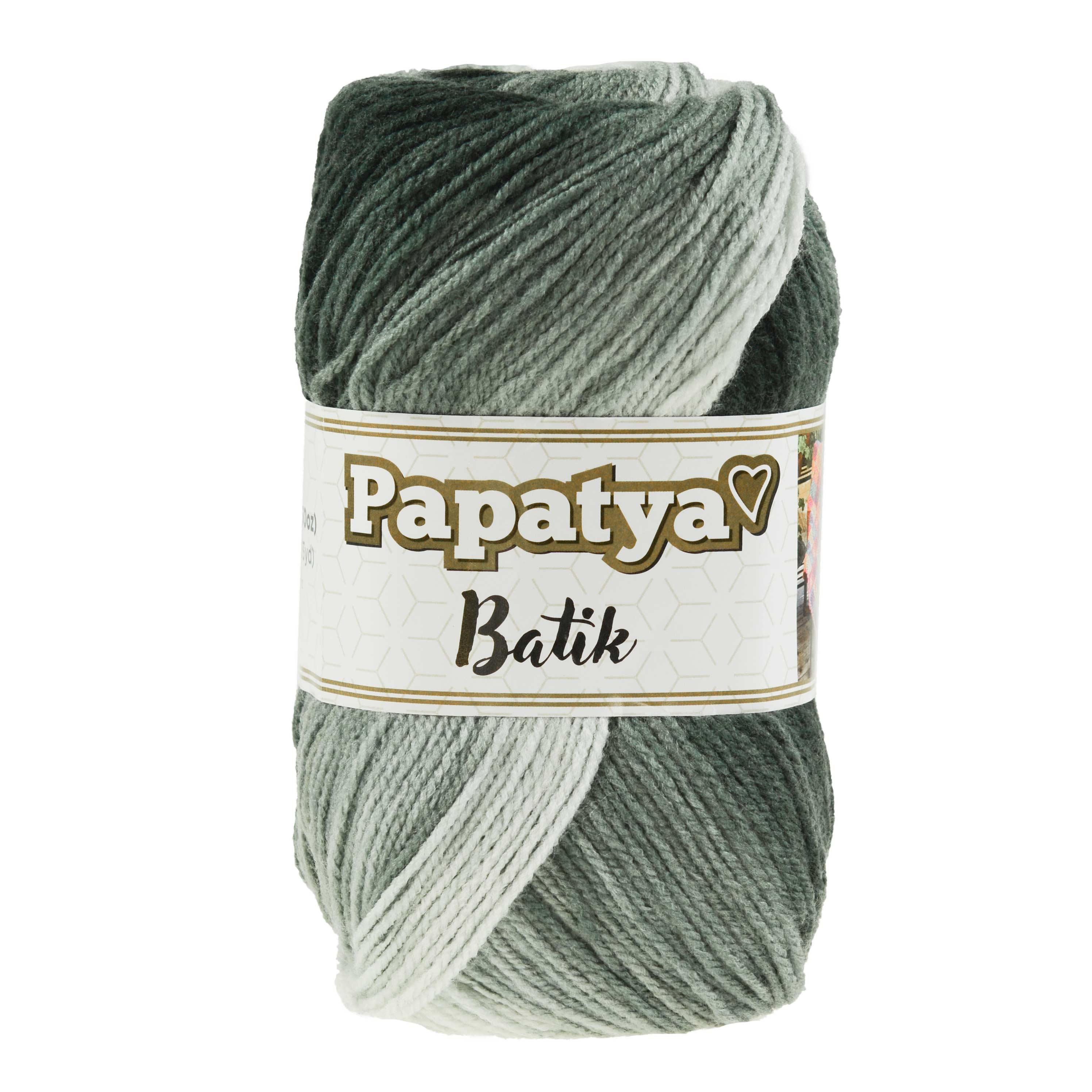 500g Farbverlaufsgarn Papatya Batik Strick-Wolle Strickgarn Häkelgarn Farbwahl – Bild 15