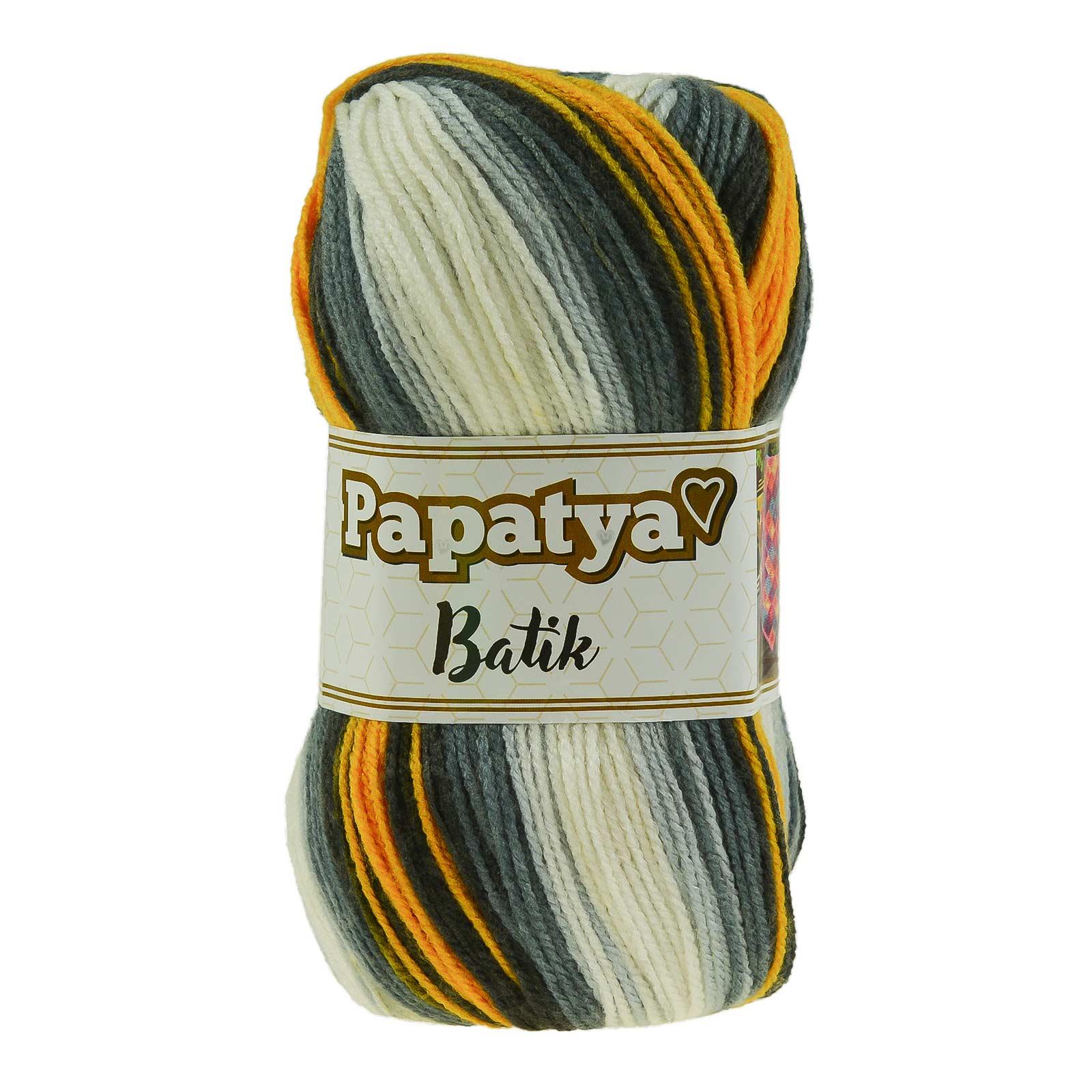 500g Farbverlaufsgarn Papatya Batik Strick-Wolle Strickgarn Häkelgarn Farbwahl – Bild 18