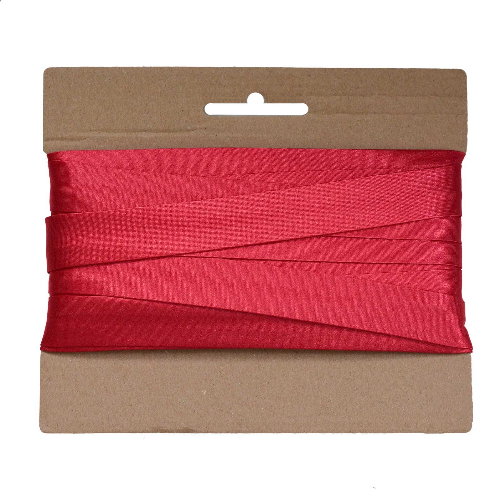 20m Schrägband Satin 20mm gefalzt Kantenband Einfassband 29 Farben wählbar – Bild 8