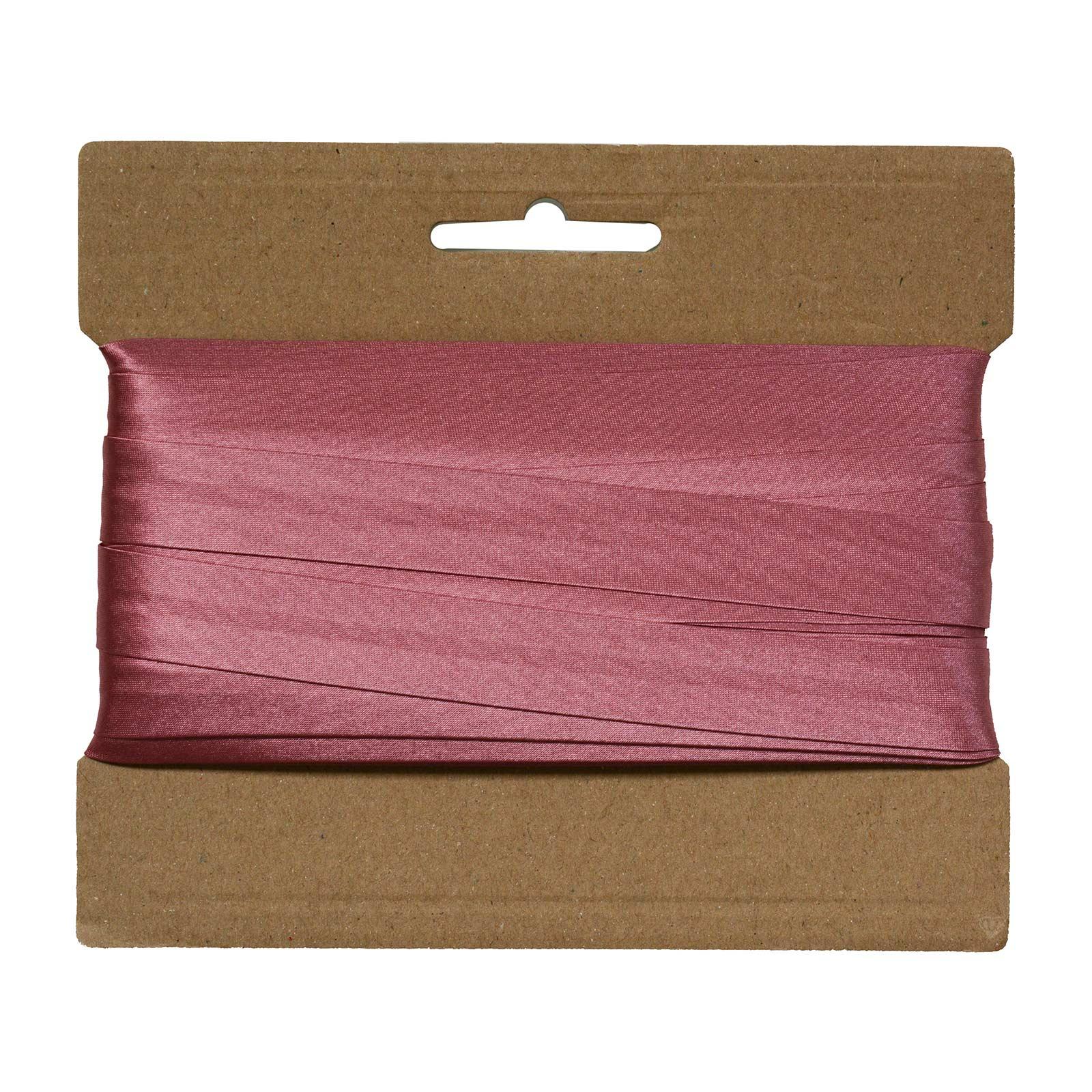 20m Schrägband Satin 20mm gefalzt Kantenband Einfassband 29 Farben wählbar – Bild 22