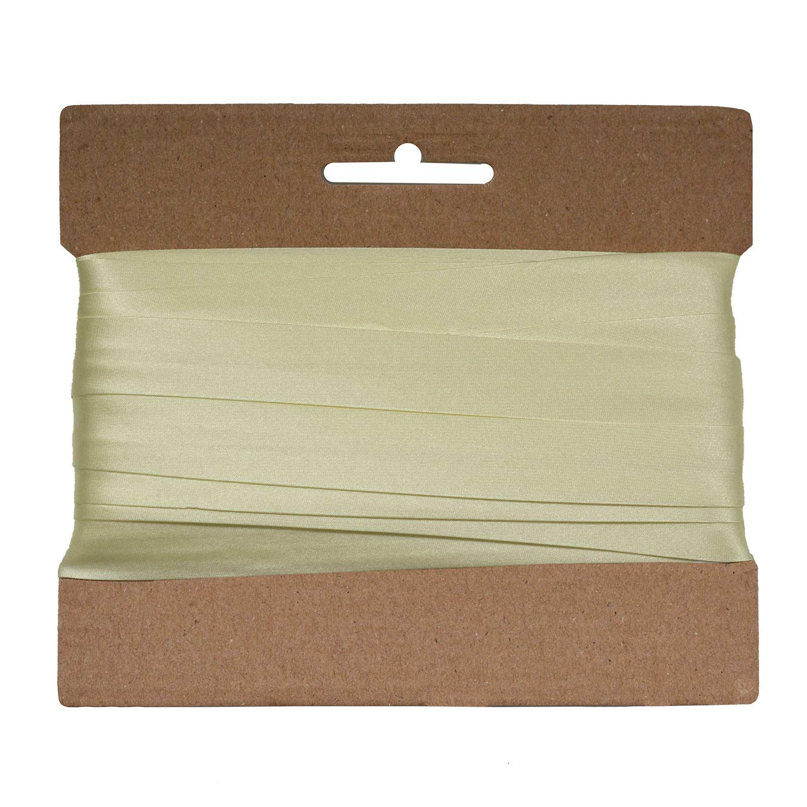 20m Schrägband Satin 20mm gefalzt Kantenband Einfassband 29 Farben wählbar – Bild 23