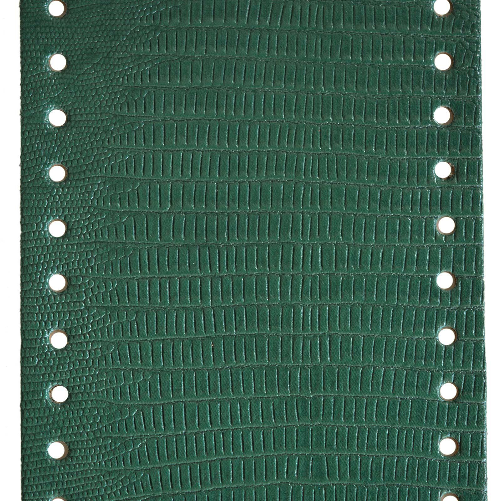 1 Taschenboden Kunstleder zur Taschenherstellung Tasche Krokodilmuster Farbwahl – Bild 5