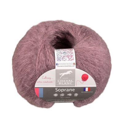 50g Strickgarn Soprane Uni Strick-Wolle Winter-Strickgarn 35% Mohair Farbwahl