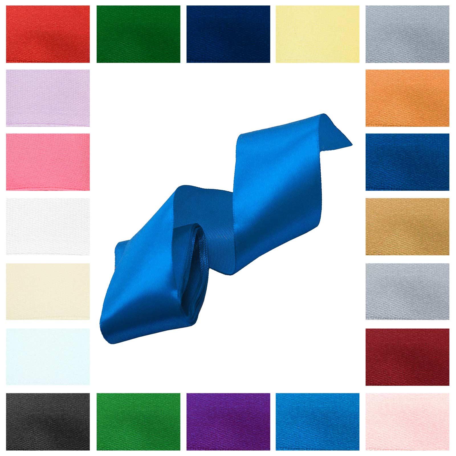 3m Satinband 50mm Dekoband Geschenkband, wähle deine Wunschfarbe – Bild 16