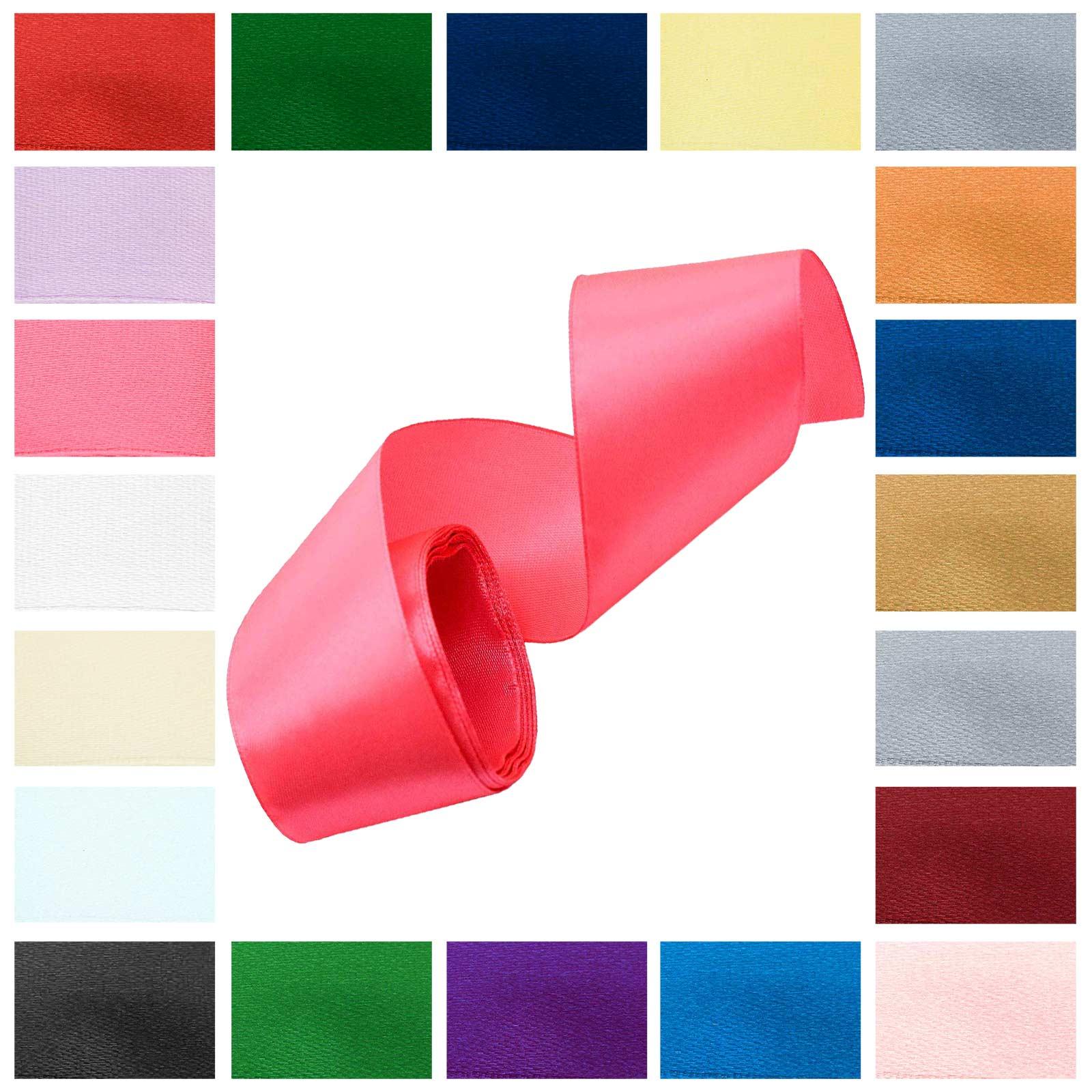 3m Satinband 50mm Dekoband Geschenkband, wähle deine Wunschfarbe – Bild 6