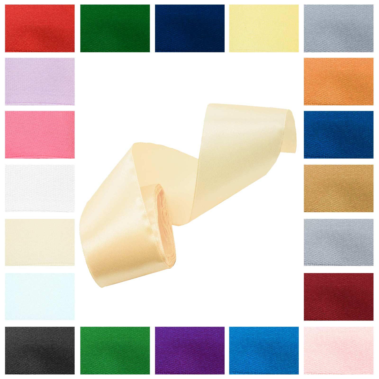 3m Satinband 50mm Dekoband Geschenkband, wähle deine Wunschfarbe – Bild 4