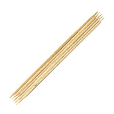 Bambus Nadelspiel Strumpfstricknadeln, Länge und Stärke wählbar